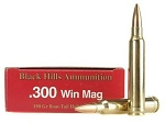 Black Hills Ammunition 300 Winchester Magnum 190 Grain Match HP