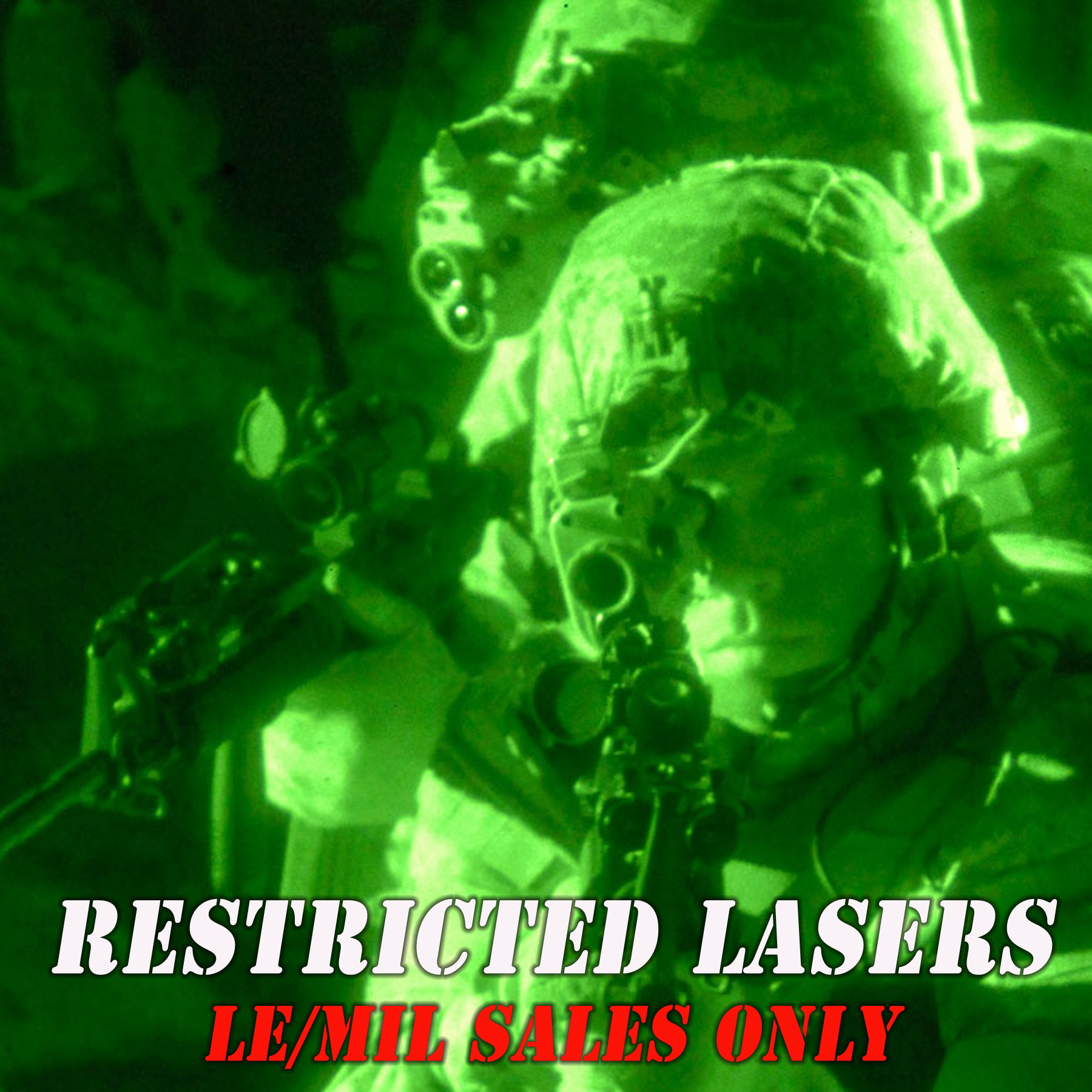 Restricted Lasers