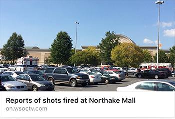 Shots Fired at Northlake Mall in Charlotte, NC