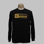 CFD-15 Logo Long Sleeve T - Black