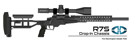 Desert Tech R7S Remington 700 Short-Action Rifle Chassis