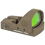 Sig Romeo 1 PRO reflex sight FDE1-30mm 6 MOA red dot