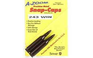 Azoom Snap Caps 243win 2/pk