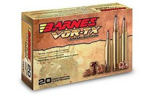 Barnes Vor-tx 7mm 140 Grain Weight Ttsx Ballistic Tip 20/
