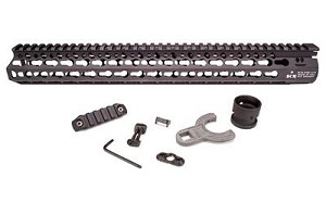 "Bcm Kmr Alpha 5.56 15"" Black"