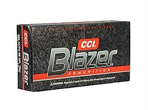 Cci/blazer 380acp 95 Grain Weight Fmj 50/1000