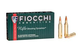 Fiocchi 223rem 55 Grain Weight Psp 20/200