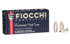Fiocchi 9mm 124 Grain Weight Xtp 25/500