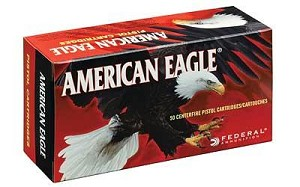 Fed Am Eagle 380acp 95 Grain Weight Fmj 50/1000