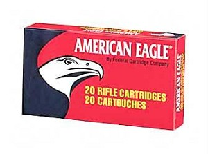 Fed Am Eagle 762x39 124 Grain Weight Fmj 20/500