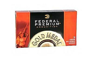 Fed Gold Mdl 308wn 168 Grain Weight Bthp 20/200