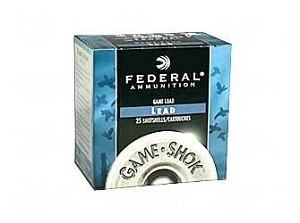 "Fed Game Load 20ga 2 3/4"" #8 25/250"