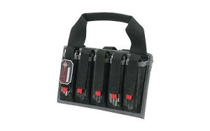 G-outdrs Gps Pistol 10-mag Tote Black