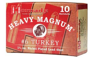 "Hrndy Hm Turkey 12ga 3"" #6 10/250"