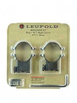 Leup Ruger High Rings 50mm Matte