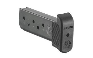 Mag Ruger Lcp 380acp 7rd Bl W/ext