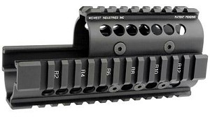 Midwest Ak47/74 Quad Rail Black