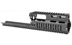 Midwest Ssr Scar Rail Extension Black