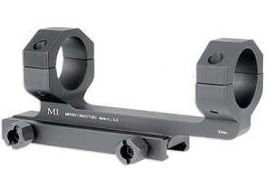 Midwest 1.0 Inch Scope Mount Black