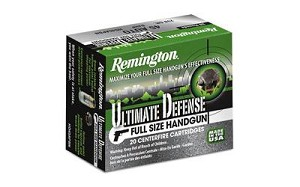 Rem Ult Def 9mm 147 Grain Weight Bjhp 20/500