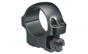 "Ruger Std 1"" Ring Low Blued"