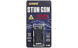 Sabre Mini Stun 600,000 Volts Black