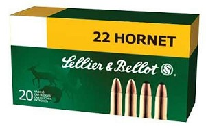S&b 22 Hornet 45 Grain Weight Sp 20/1800