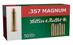 S&b 357mag 158 Grain Weight Fmj 50/1000