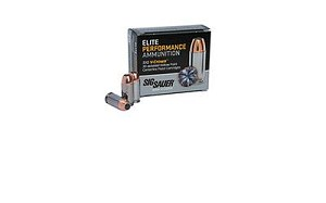 Sig Ammo 10mm 180 Grain Weight Jhp 20/200
