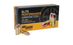 Sig Ammo 357mag 125 Grain Weight Fmj 50/1000