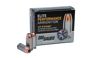 Sig Ammo 45acp 230 Grain Weight Jhp 20/200