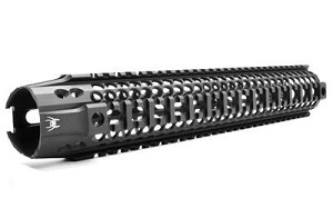 "Spike's Lw Bar2 Rail 13.2"" Black"