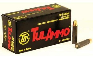 Tula 30carb 110 Grain Weight Fmj Nc 50/1000