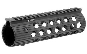 "Troy 7.2"" Alpha Rail No Sight Black"