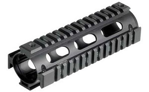 Utg Pro 4/15 Carb Quad Rail Black