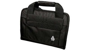 Utg Deluxe Single Pistol Case Black