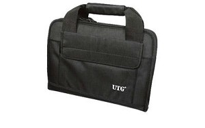 Utg Deluxe Double Pistol Case Black