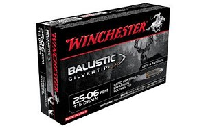Win Ballistic Tip 2506rm 115 Grain Weight 20/
