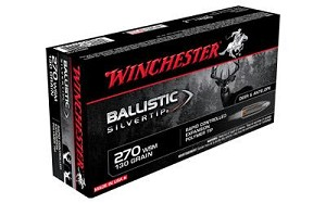 Win Ballistic Tip 270wsm 130 Grain Weight 20/