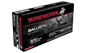 Win Ballistic Tip 300wsm 150 Grain Weight 20/