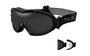 Wiley X Nerve Goggles Smk Gry Matte