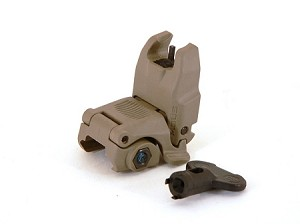 Magpul MBUS Gen 2 Front Back Up Iron Sight - FDE