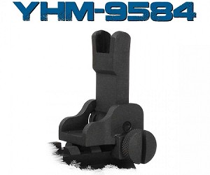YHM-9584 Gas Block Mounted Front Flip Sight